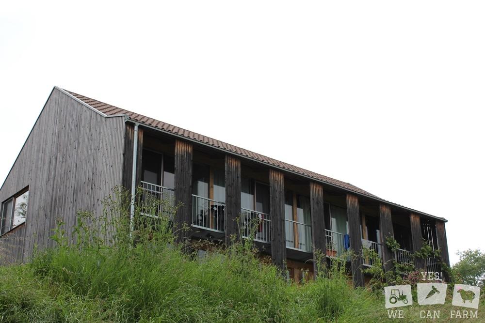 Das Wohnhaus aus Holz