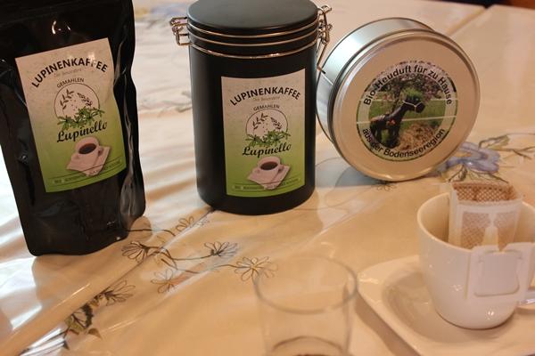 Lupinello Lupinenkaffe und Bio-Heuduft aus der Dose für zu Hause