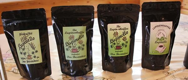 Design Lupinenkaffee handgemacht